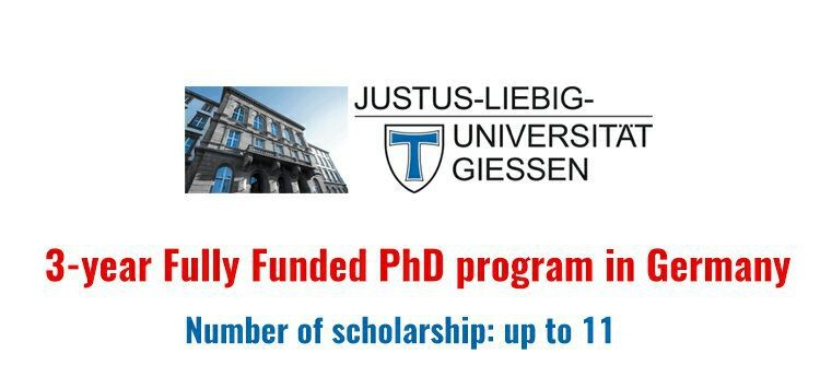 PhD Scholarship at Giessen University, Germany 2018   Mahfouz Adedimeji